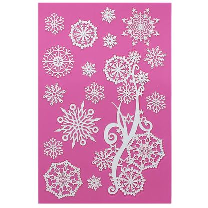 * Frozen Crystals Cake Lace Mat Each