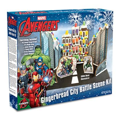 Avengers Gingerbread House