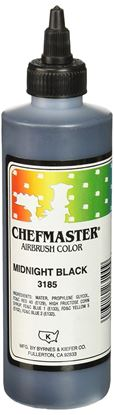 Black Airbrush Color 8 oz