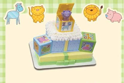 ABC Baby Block DecoSet® Each