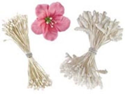 Flower Stamens 60 assorted pieces 3 styles