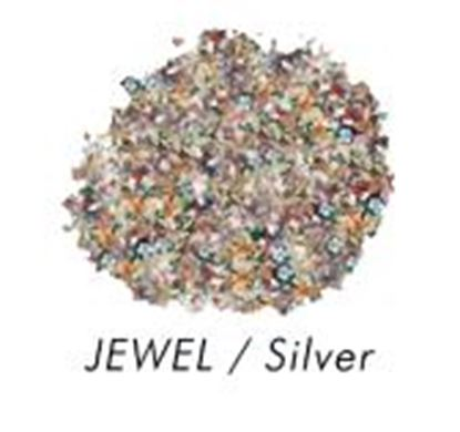 Bakery Bling Jewel with Silver Glitter 3 oz