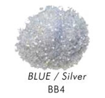 Bakery Bling Light Blue with Silver Glitter 3 oz