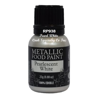* Metallic Food Paint Pearl White 25 Gram