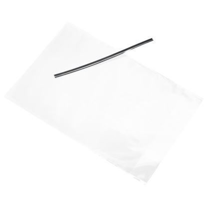 Cello Bag w/Silver Twist Ties 50 count