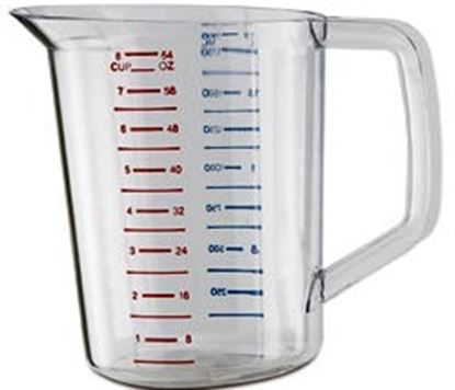 Measuring Cup 1 Cup Plastic Each