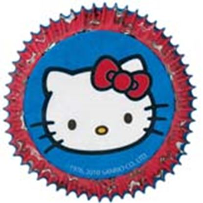 "* Hello Kitty Baking Cups 2"" Base 50 count"