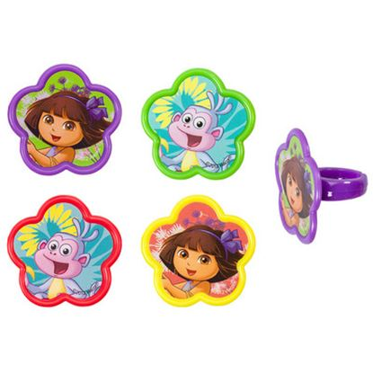 * Dora & Boots Spring Friends Rings 12 count