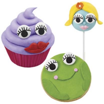 Candy Eyeballs With Lashes 1 oz
