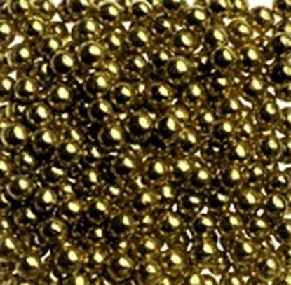 Gold Dragees #1 (4mm) 3 oz