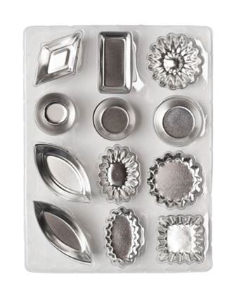 Tartlet Molds 12 shapes