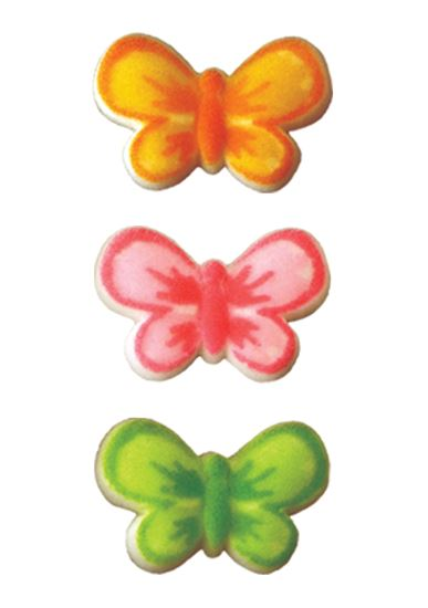 ! Butterfly Assorted Dec-Ons 168 count