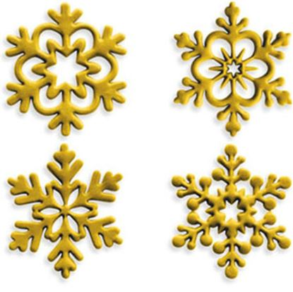"""Angel Snowflake Cutters 1.5"""" 4 count"""