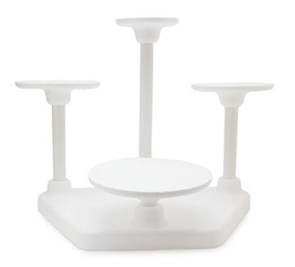 4 Tier Single Use Cake Stand Each
