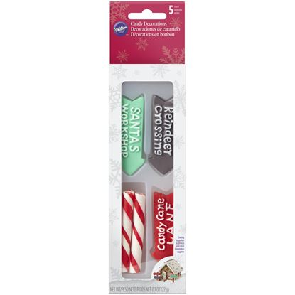 * Candy Sticks & Signs Icing Decorations