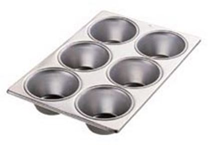 Jumbo Muffin Pan 6 cavity Each
