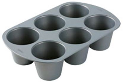 King Size Muffin Pan 6 cavity Each