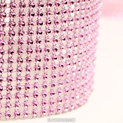 "Glam Ribbon Pink 36"" x 4 3/4"" Each"