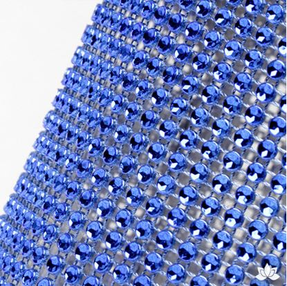 "Glam Ribbon Blue 36"" x 4 3/4"" Each"