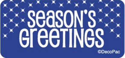 Season's Greeting Labels 25 count