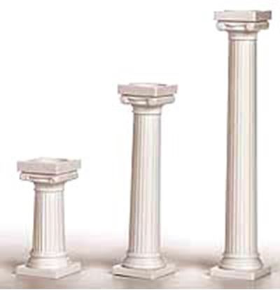 "3"" Grecian Pillar 4 count"