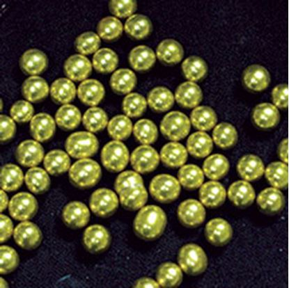 Gold Dragees #3 (6mm) 3 oz