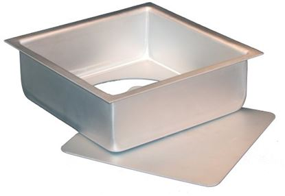 "9"" x 3"" Square Loose Bottom Pan Each"