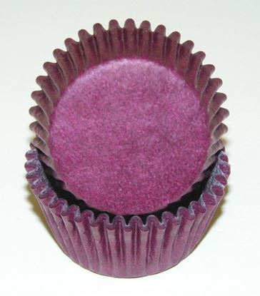 "Burgundy Mini Cups 1 3/8"" Base x 3/4"" Wall approx 100"