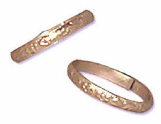 "3/4"" Gold Rings 144 count"