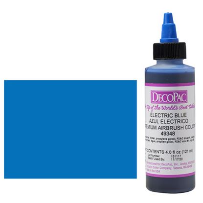 Electric Blue Airbrush Color 4 oz