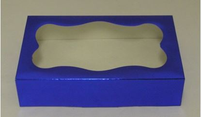 Blue Foil 1 lb Box w/window Each