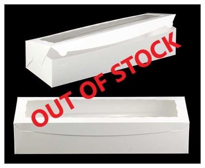 Picture of OUT OF STOCK         20 X 7 X 4 White One Piece Box with window Each