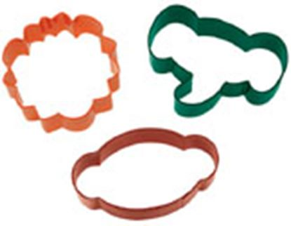 * Jungle Cookie Cutter 3 piece Set