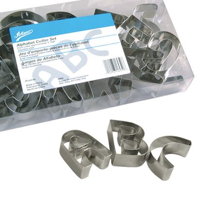 Alphabet Cookie Cutter 26 piece Set