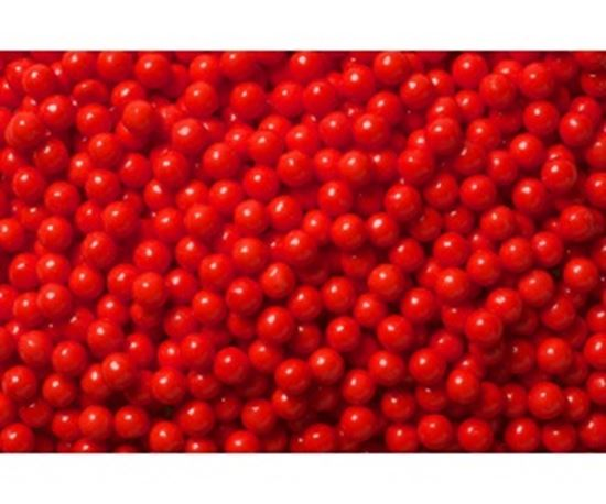 "Red Pearls 1/4"" 6 oz"