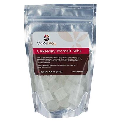 Isomalt Nibs Diamond Clear 7 oz