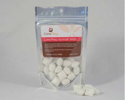 Isomalt Nibs Brilliant White 7 oz