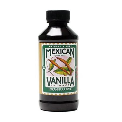 Mexican Vanilla Extract 4 oz