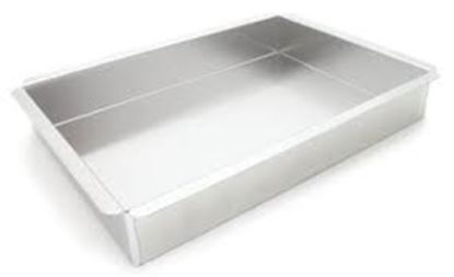 """16"""" X 24"""" X 2"""" Rectange Pan with Square Corners Each"""