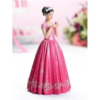 "Quinceanera Figurine 6"" Each"