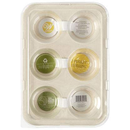 Disposable Bakeware Muffin Pan 6 cavity 2 count