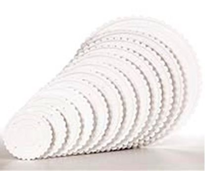 """* 9"""" Round Ringed Separator Plate Each"""