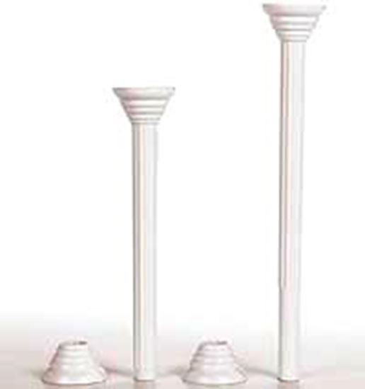 """7"""" Disposable Pillar with Ring 4 count"""