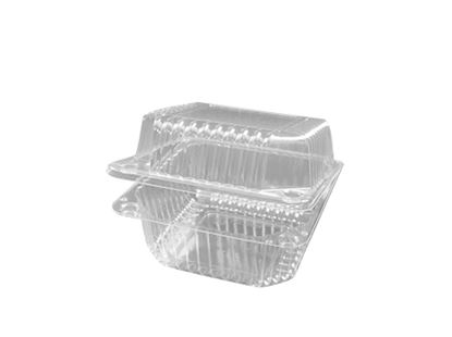 """5"""" x 5"""" x 3"""" Hinged Container 5 count"""
