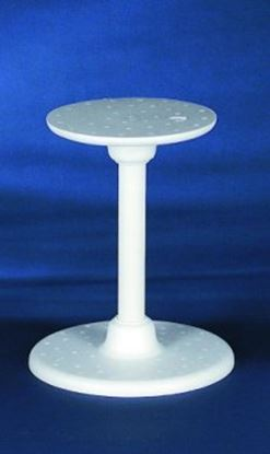 """Single Use Stand  8"""" Plate & 10"""" Base with 11"""" Tube"""