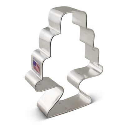 """Cake with Stand Cookie Cutter 3.5"""" Each"""