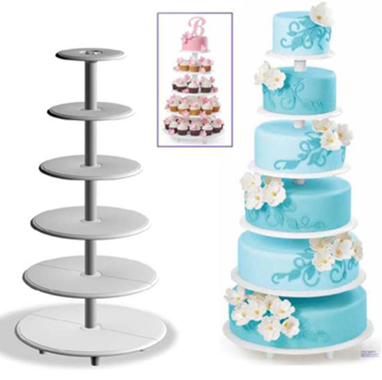 Towering Tiers Cake Stand 25 piece Set
