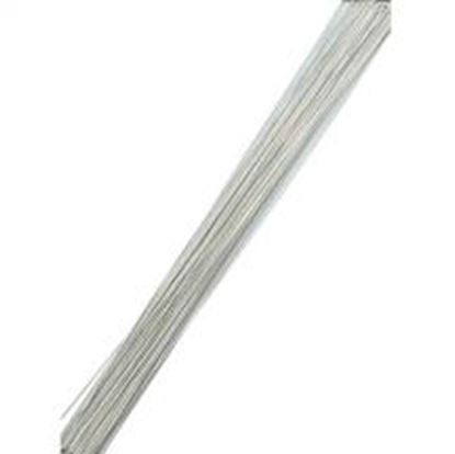 Paper Covered Wire White 28 gague 50 count