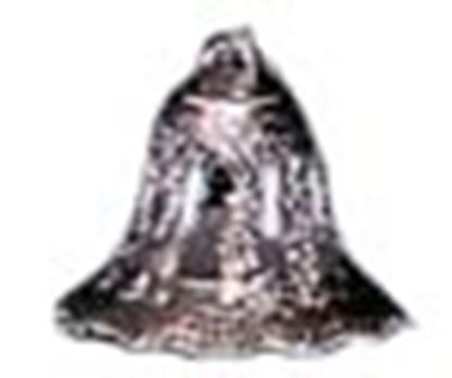"""Silver Lace Bell 2"""" 6 count"""