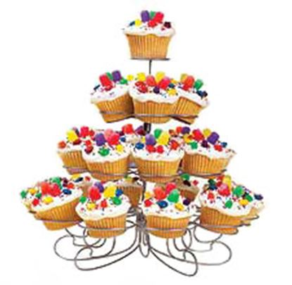 Cupcakes Dessert Stand Holds 23 Each